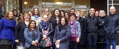 Photograph of the London Counselling Course Class of 2016