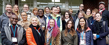 Photograph of the London Counselling Course Class of 2018