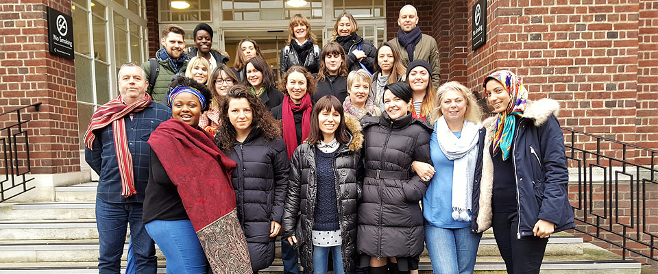 London Counselling Course Class Photo from 2017
