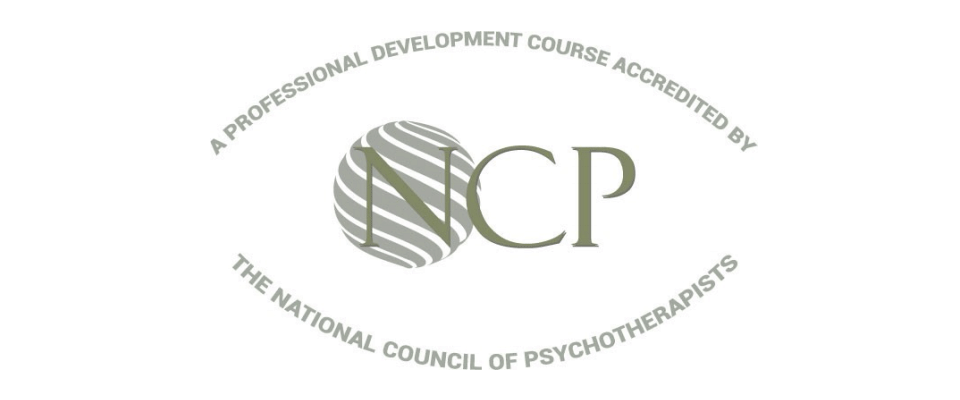 National Council of Psychotherapists Course Accreditation kitemark
